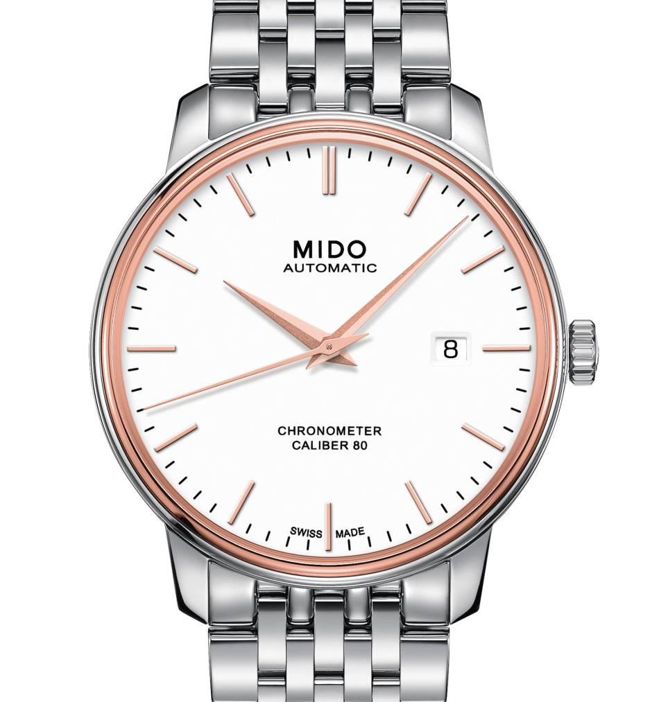 Mido Baroncelli Calibre 80 Chronomètre Si : si chronomètre !
