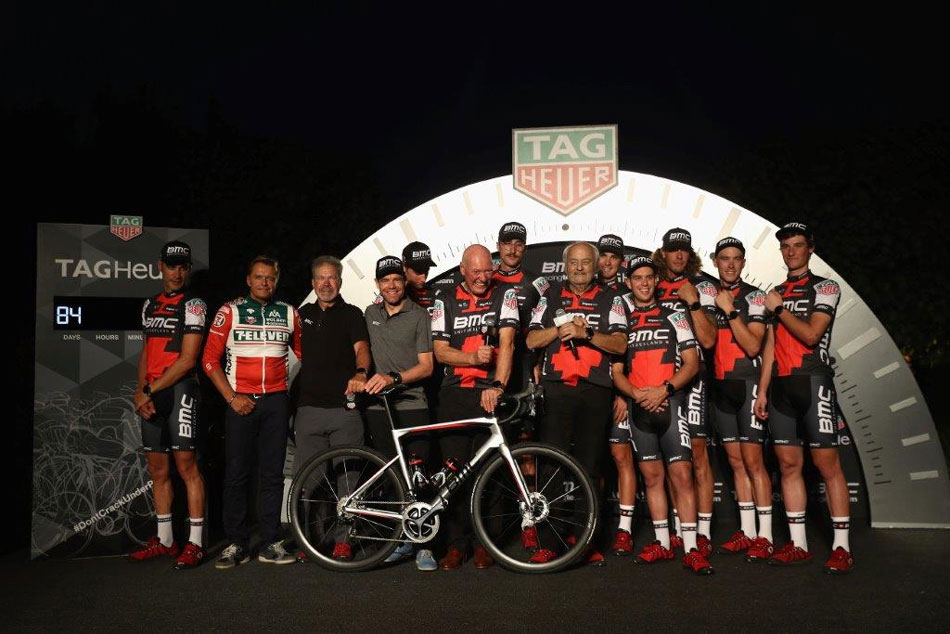 Cyclisme : TAG Heuer, partenaire de BMC Racing Team
