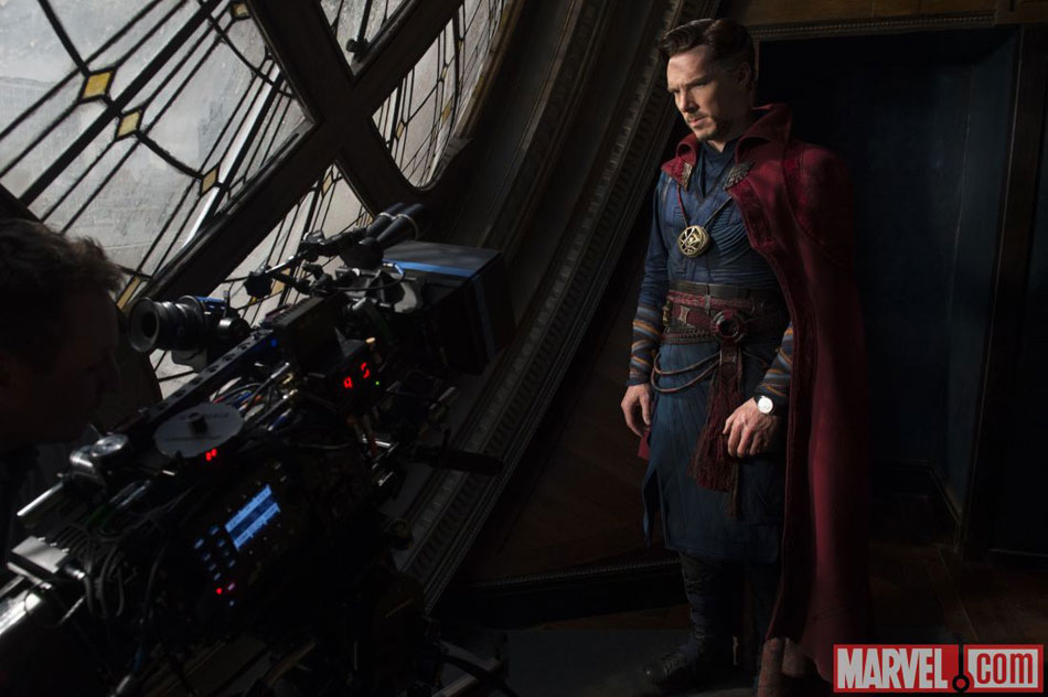 Doctor Strange : Benedict Cumberbatch porte une Jaeger-LeCoultre Ultra Thin