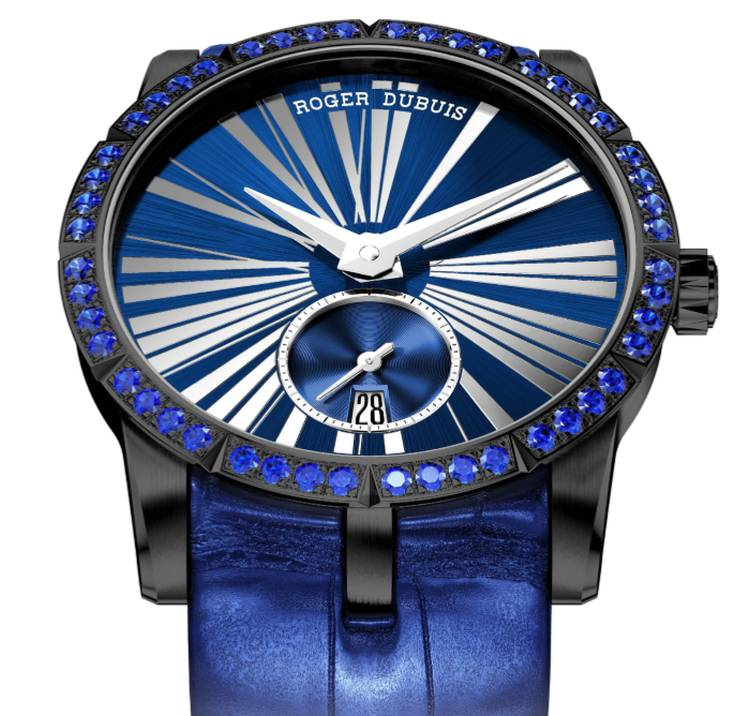 Roger Dubuis Excalibur 36... got the blues !