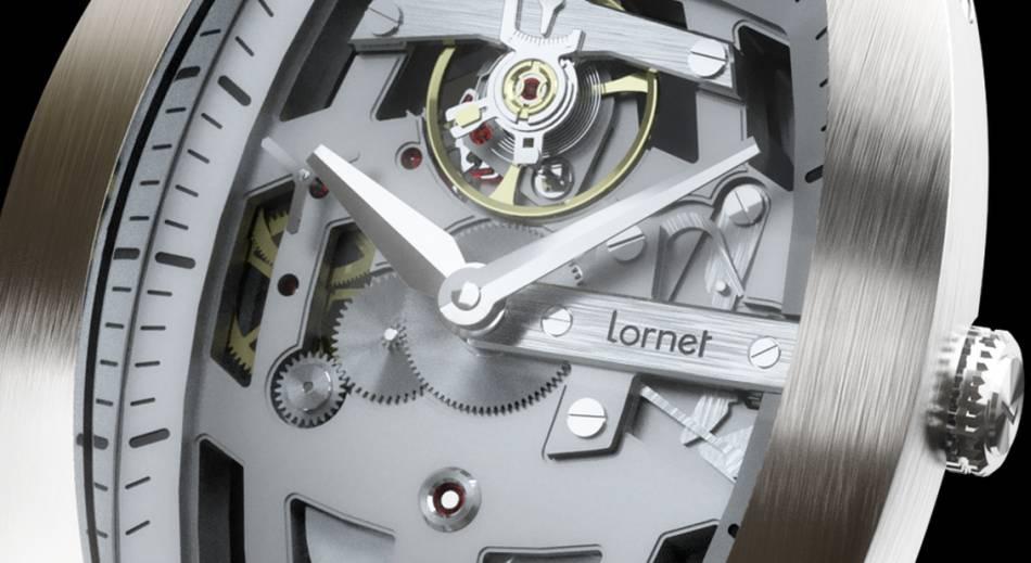 """Lornet LA-01 : montre """"made in Besançon"""""""