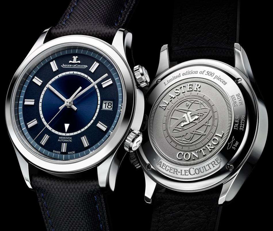Jaeger-LeCoultre Master Memovox Boutique Edition : somptueuse !