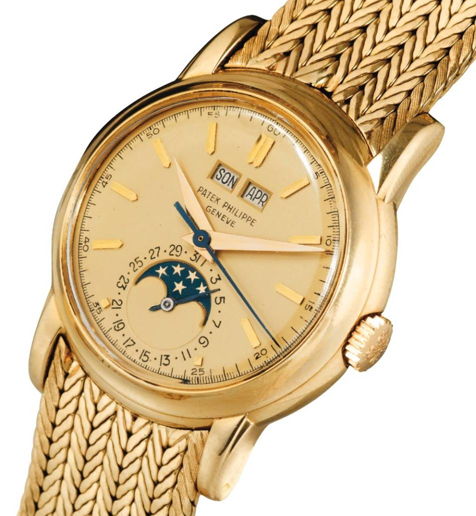 Patek Philippe 2438-1 yellow gold