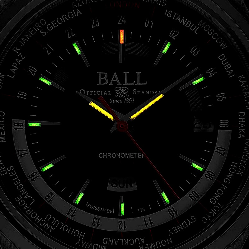 Ball Watch : une nouvelle Trainmaster Worldtime