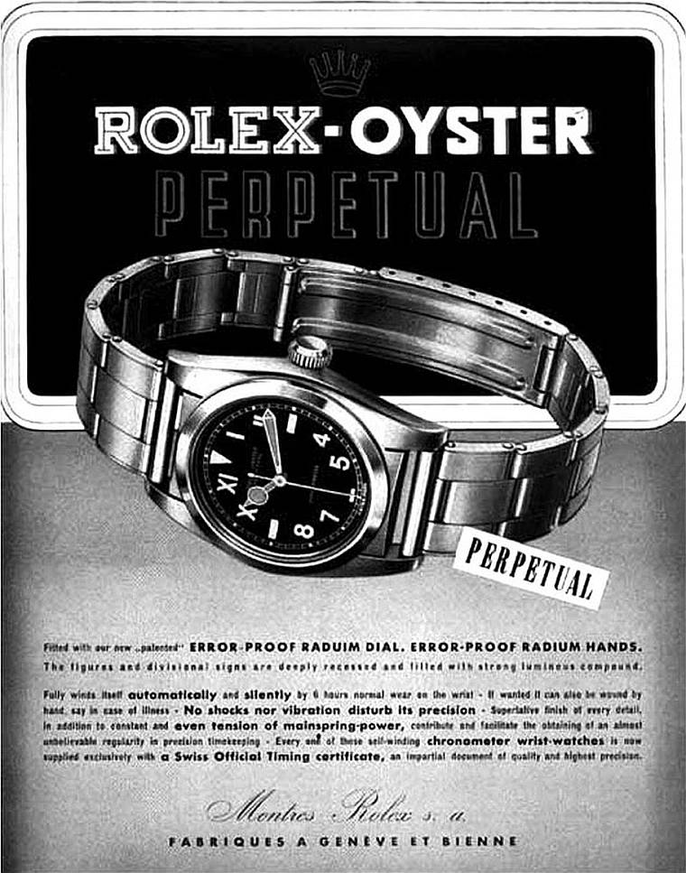 Rolex : aux origines du cadran California