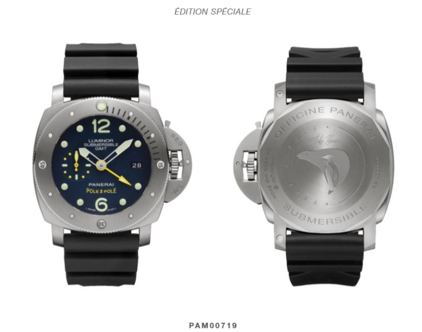LUMINOR SUBMERSIBLE 1950 GMT POLE2POLE