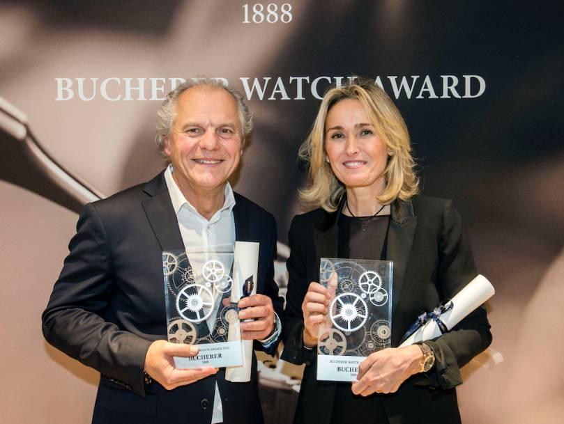 Michel Legendre pour Oris et Sylvie Viot pour Roger Dubuis