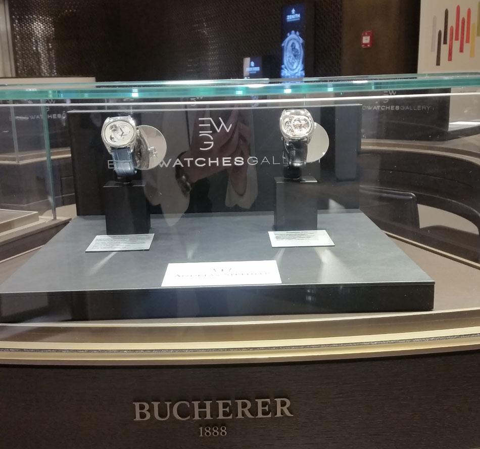 """Ekso en """"guest-star"""" chez Bucherer pendant tous le """"Mois Horloger"""""""