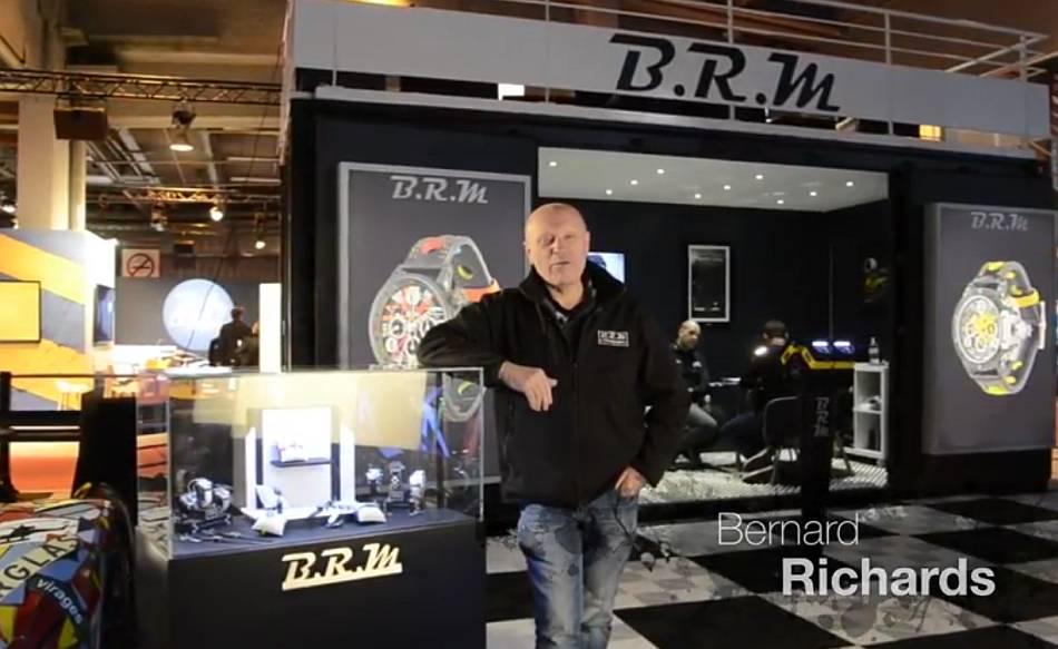Quand Bernard Richards fait le point sur sa marque BRM
