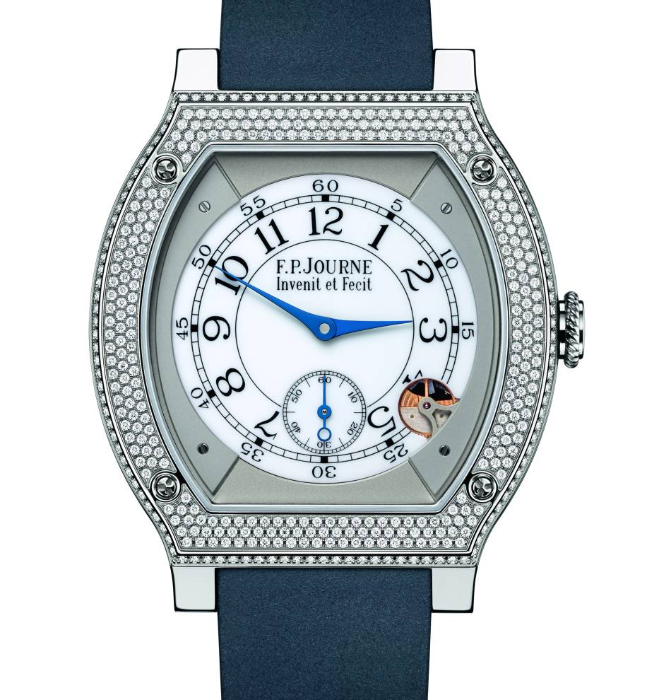 FP Journe : son Elegante se pare de 418 diamants !