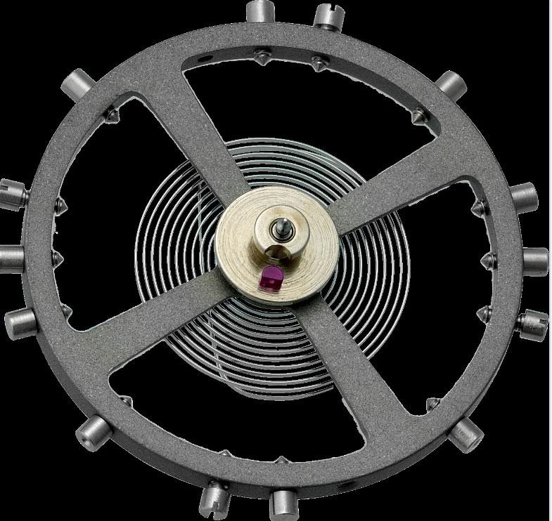 Organe réglant, balancier spiral à vis