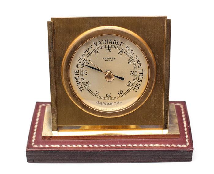 Baromètre de bureau Hermès pour Dupré-Lafon