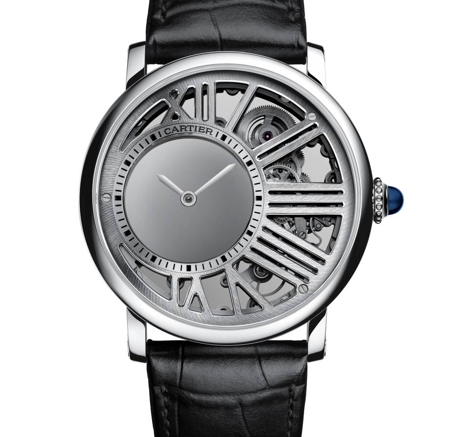 Rotonde de Cartier Heure Mystérieuse squelette : montre... presque tout