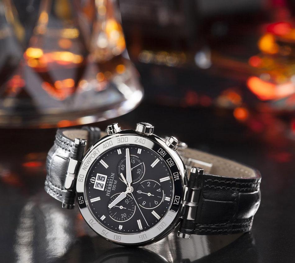 Michel Herbelin Newport Chronographe : chrono quartz d'entrée de gamme