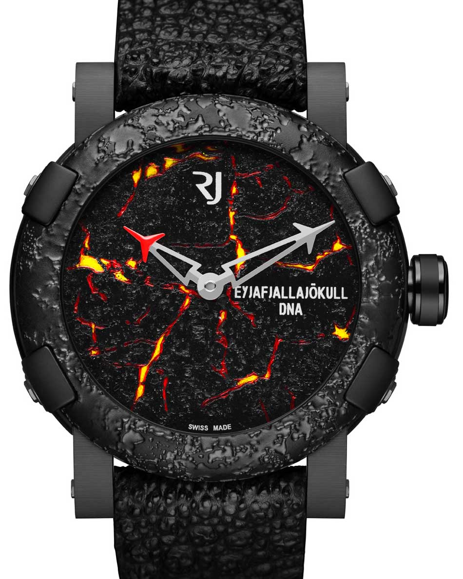 RJ Romain Jerome Eyjafjallajökull-DNA Burnt : éruption horlogère