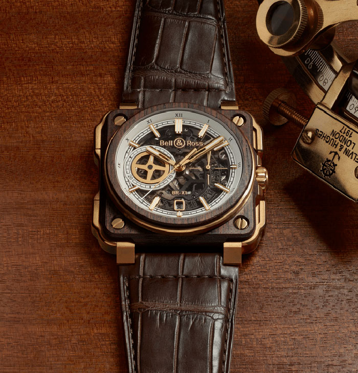 Bell & Ross BR X1 Skeleton Chronograph Instrument de Marine