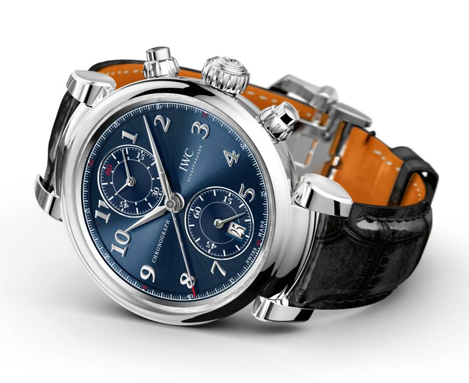IWC Da Vinci Chrono Edition Laureus Sport For Good Foundation