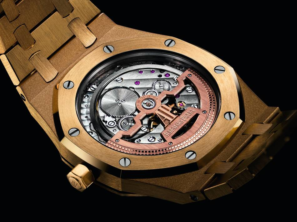 Audemars Piguet Royal Oak 15202 : l'or à l'heure