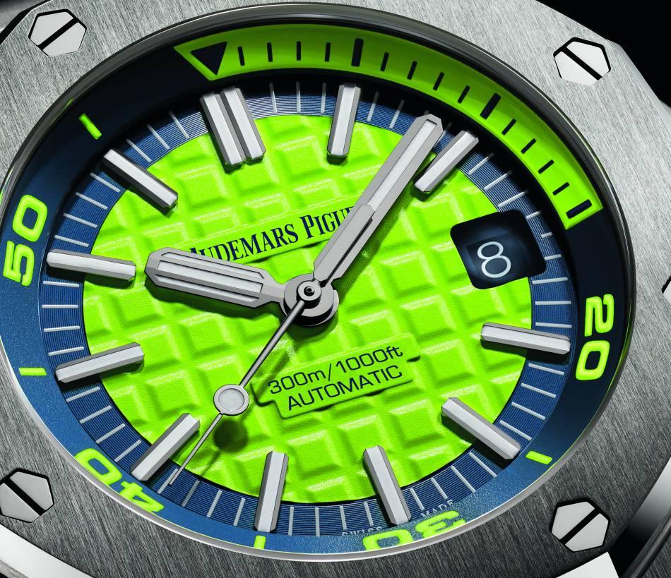 Audemars Piguet Royal Offshore Divers : plongeuses chics et funs