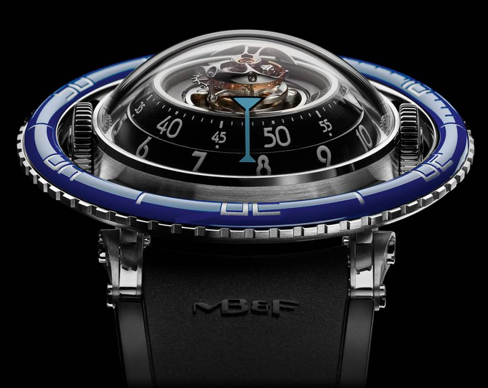 MB&F Horological Machine N°7 Aquapod : médusante montre méduse