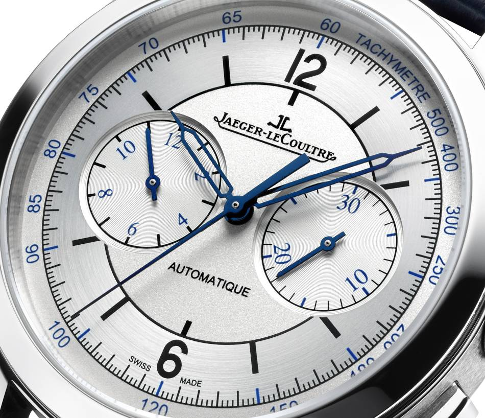 Jaeger-LeCoultre Master Control Chrono : casual chic