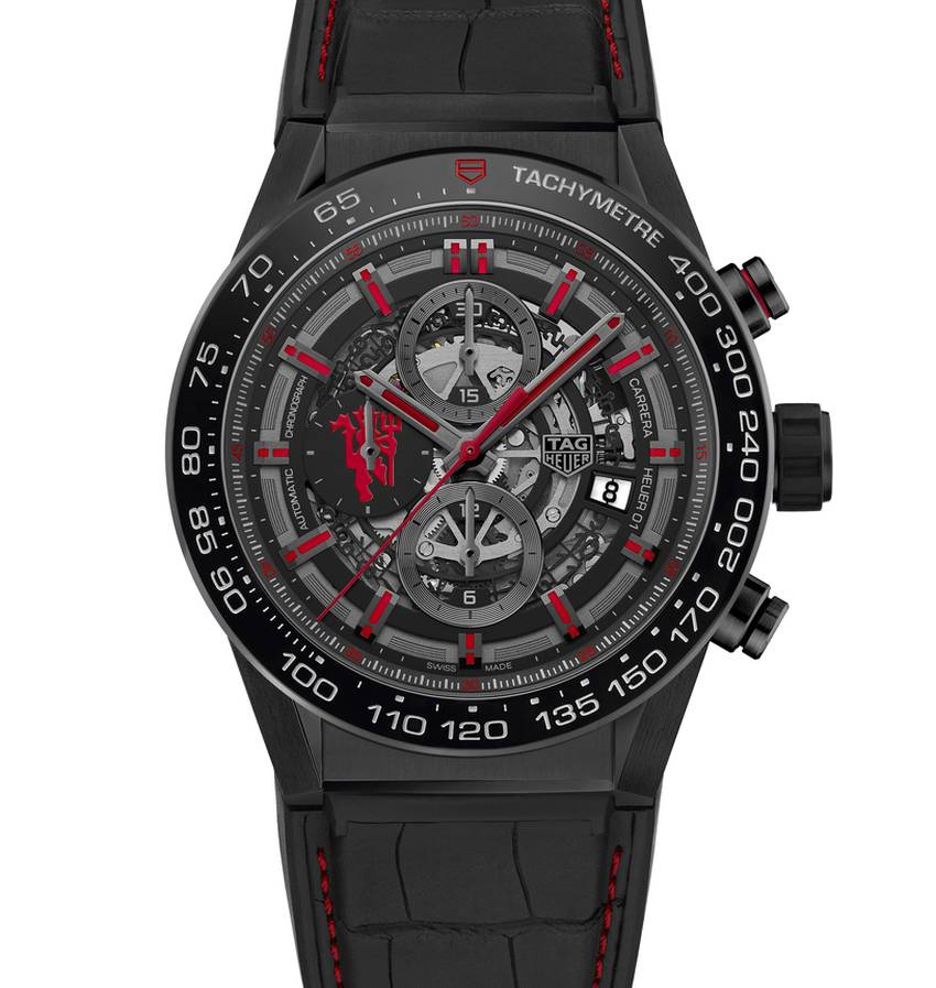 TAG Heuer Carrera Calibre Heuer 01 Manchester United Edition Speciale