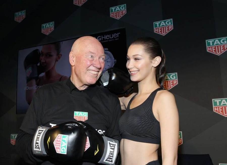 Bella Hadid, l'ambassadrice sexy de TAG Heuer