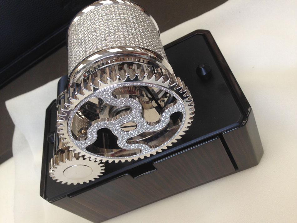 Scatola del Tempo 1 RTM Diamants : pièce unique toute en diamants
