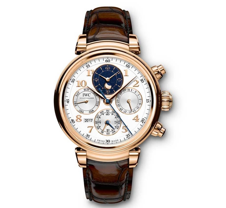 IWC Da Vinci Calendrier Perpétuel Chronographe