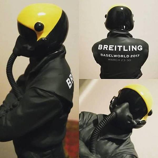 Breitling : la plus originale des invitations à Bâle 2017