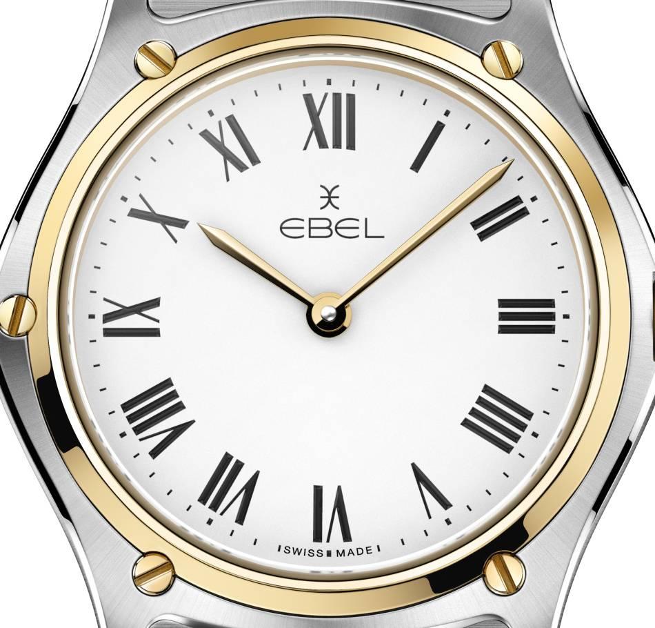 Ebel : le retour de la Classic, icône horlogère des années 80