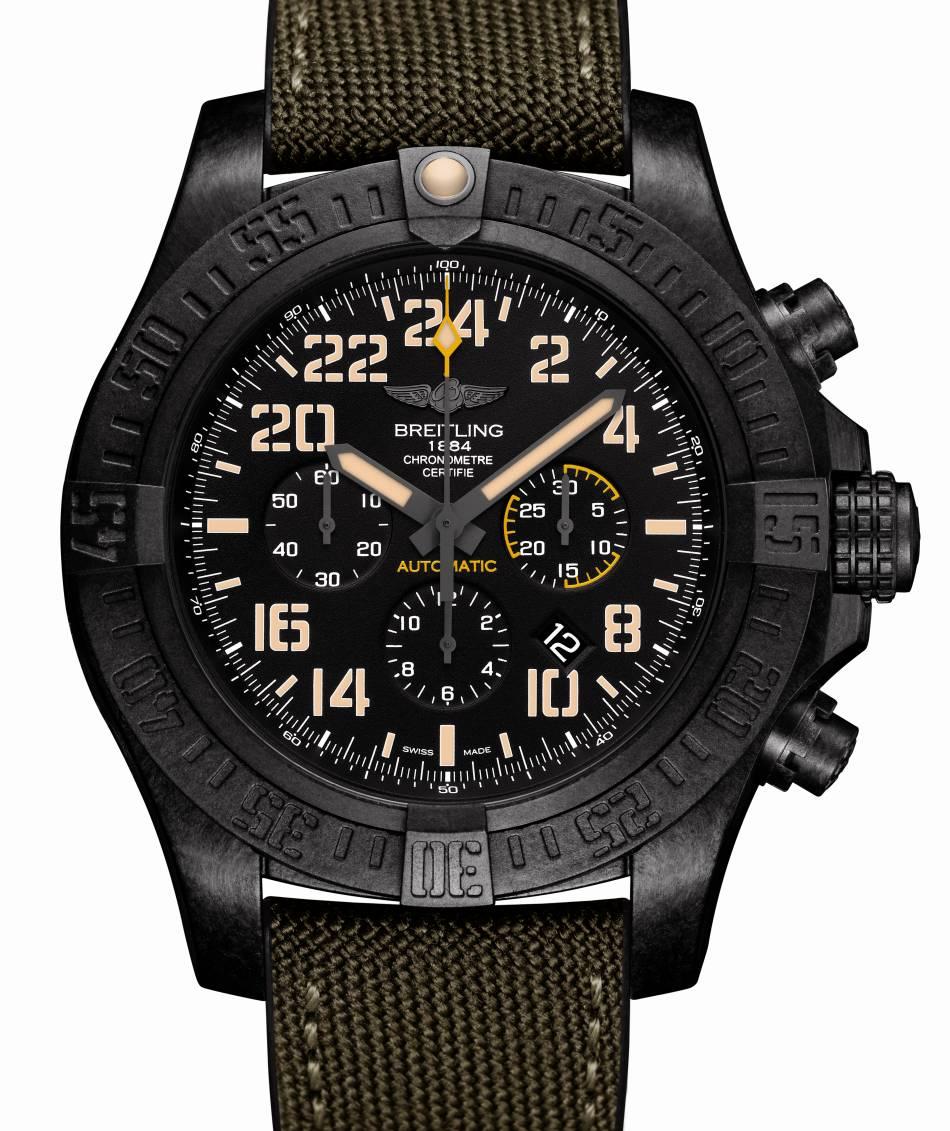 Breitling Avenger Hurricane Military : un très gros chrono