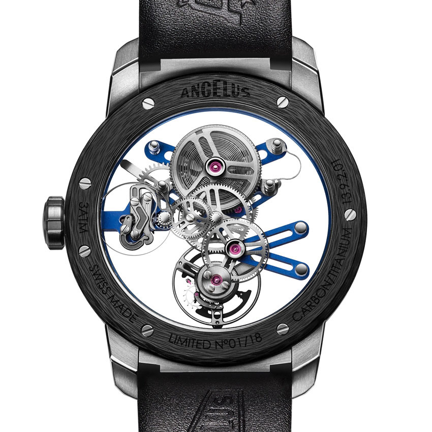Angelus U20 Ultra-Skeleton Tourbillon