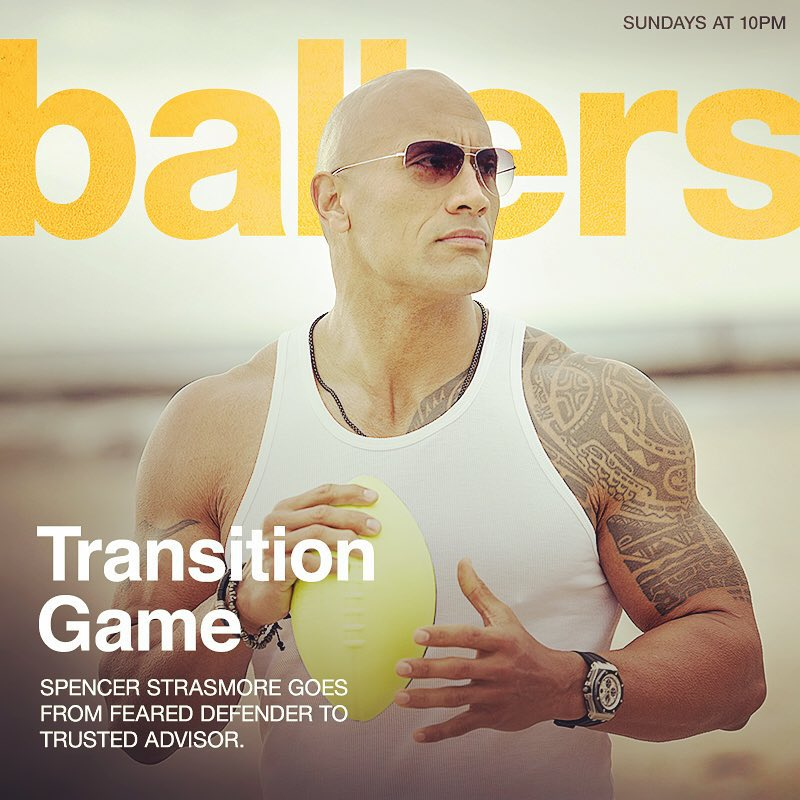 Ballers : Dwayne Johnson porte une Audemars Piguet Royal Oak Offshore