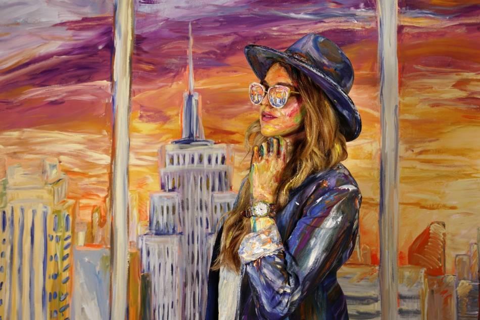 Maurice Lacroix : la vie en couleurs avec l'artiste Alexa Meade