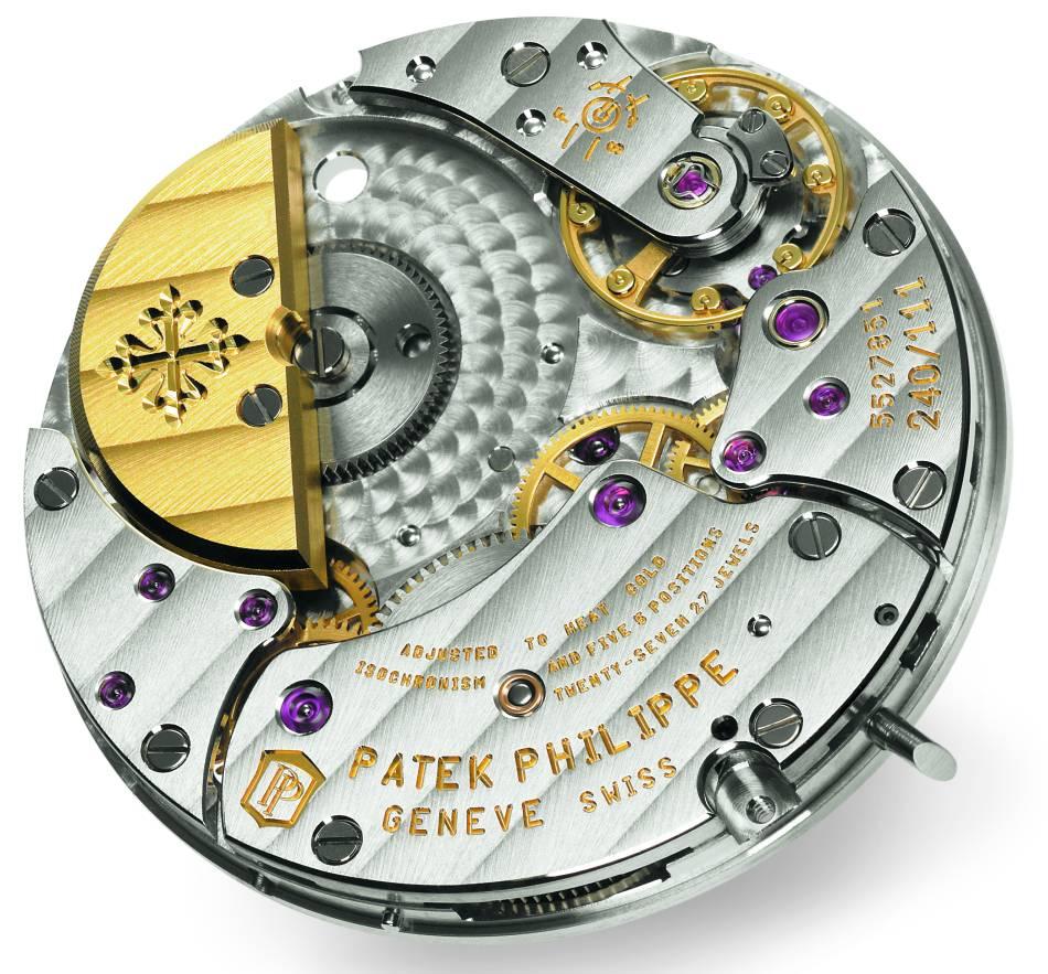 2017 : Patek Philippe célèbre le 40ème anniversaire de son calibre 240