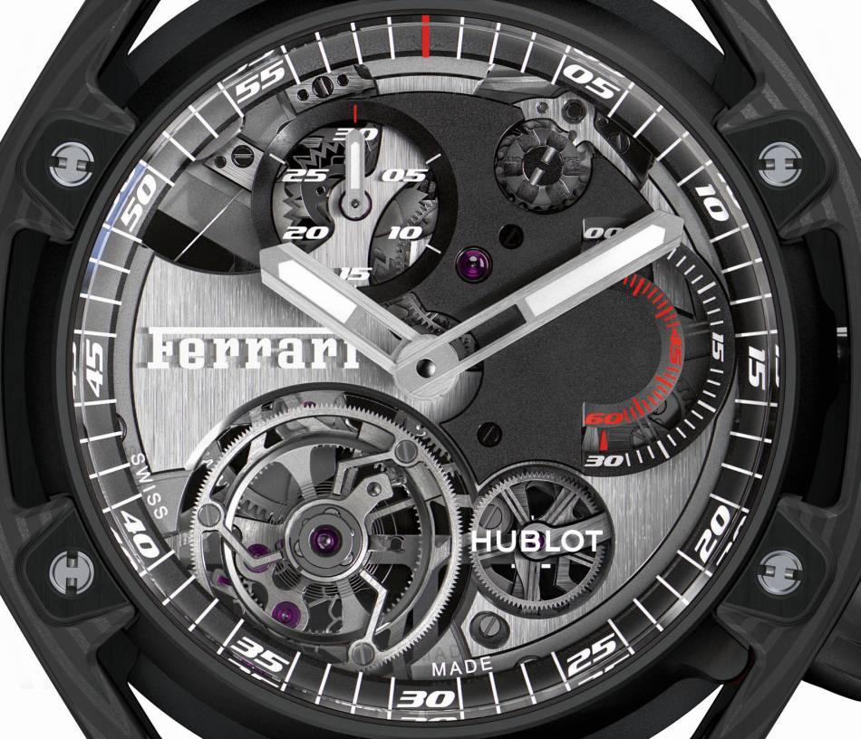 Hublot Techframe Design Ferrari : comme un bolide