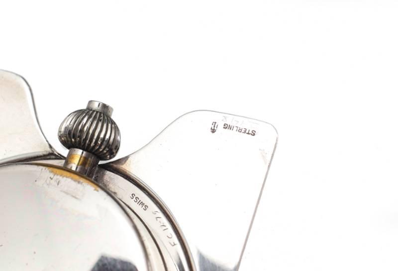 Tiffany & Co : une splendide pendulette en argent... comme on n'en fait plus !