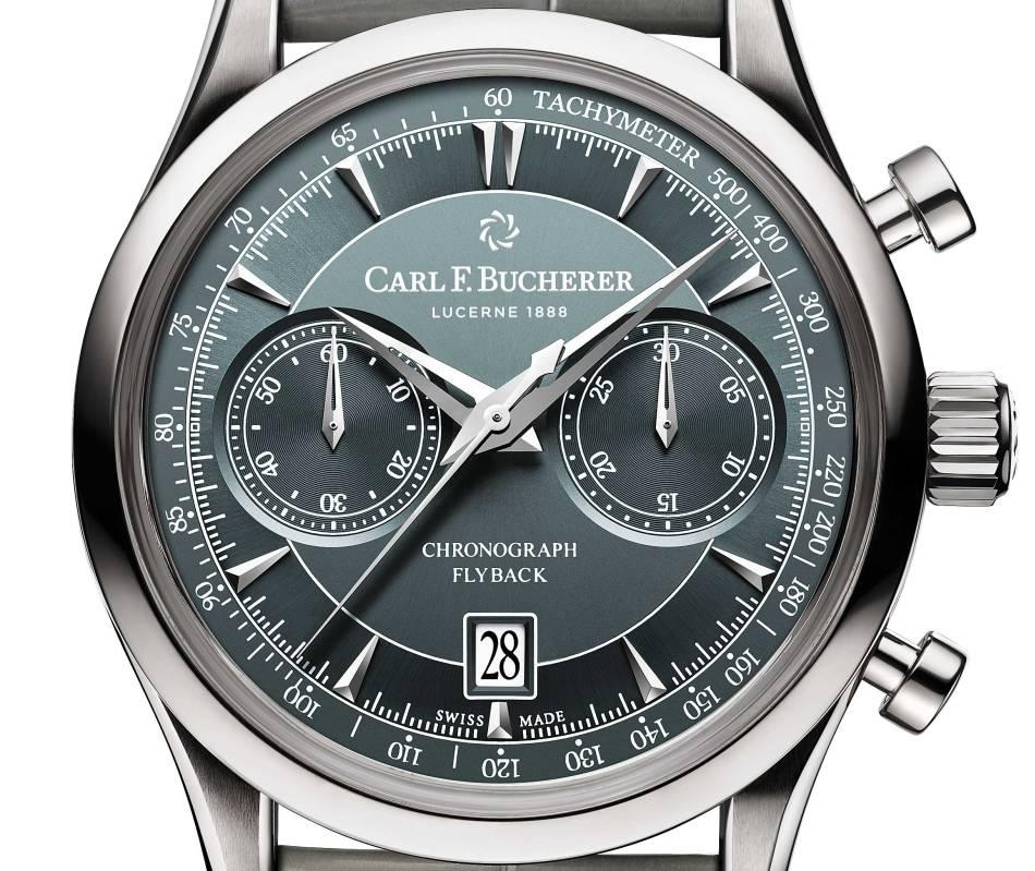 Carl F. Bucherer Manero Flyback : quel beau chrono !