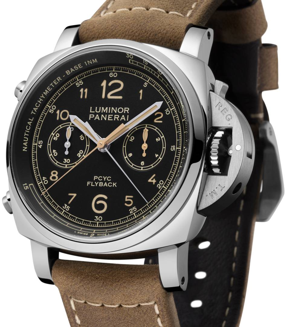 Panerai Luminor 1950 PCYC 3 days chrono flyback auto 44