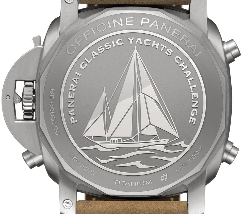 Luminor 1950 PCYC Regatta 3 days chrono flyback automatic titane 47 mm