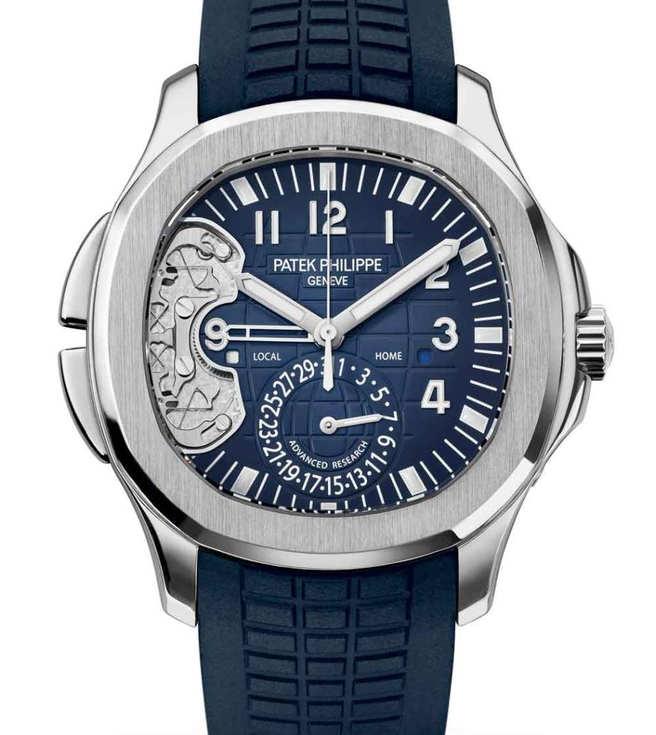 Patek Travel Time 5650 : une Aquanaut d'avant-garde