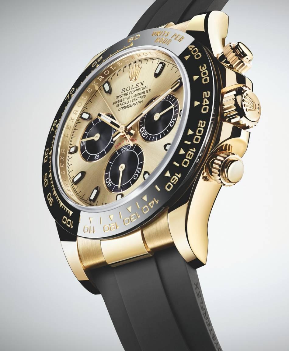 Rolex Daytona : trois nouveautés en or et céramique sur bracelet Oysterflex