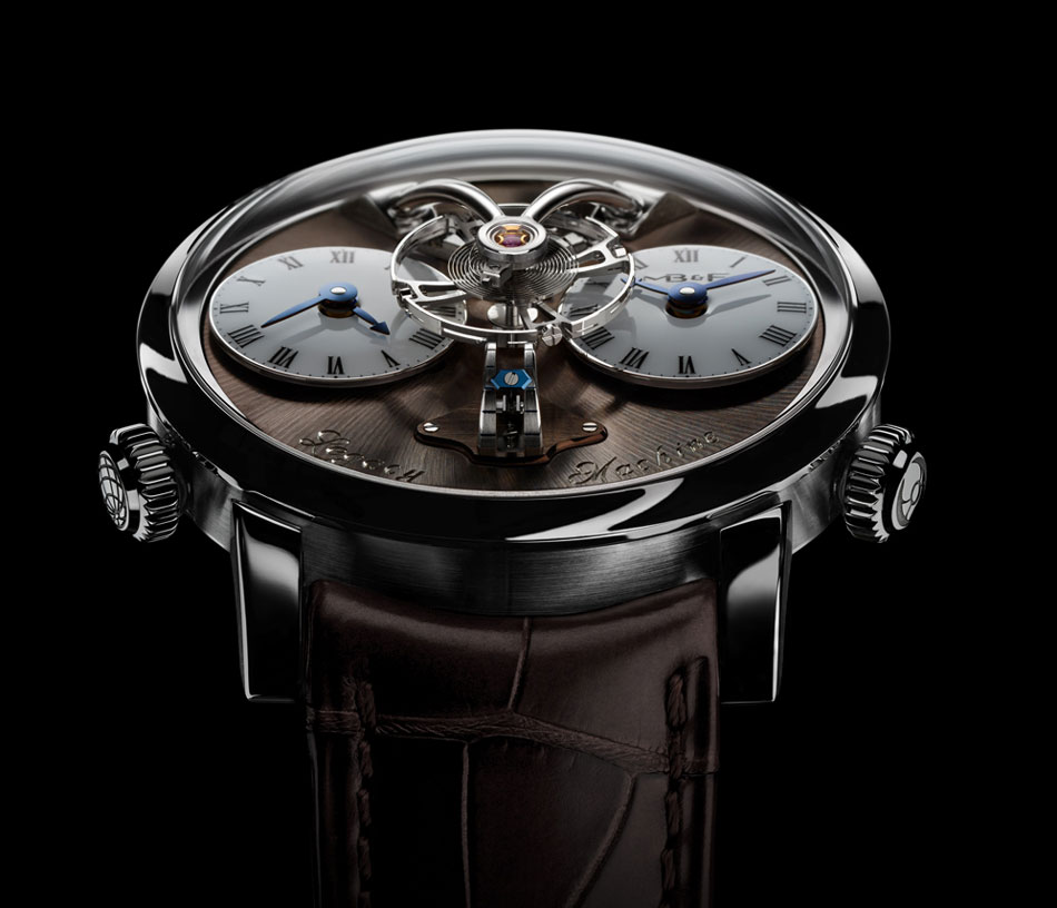 MB&F Legacy Machine n°1 Final Edition : l'acier en fin