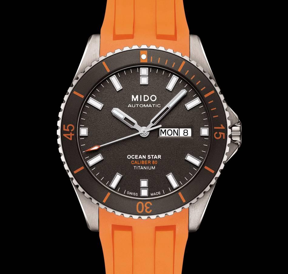 Mido Ocean Star Caliber 80 Titanium : tout d'une grande