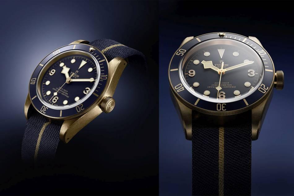 Tudor Black Bay Bronze Blue : bleu Bucherer