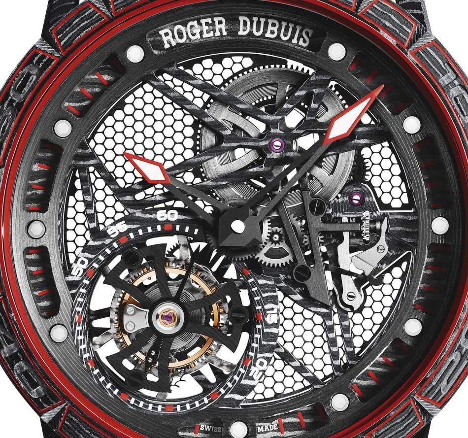 Roger Dubuis Excalibur Spider Carbon Tourbillon Volant Squelette
