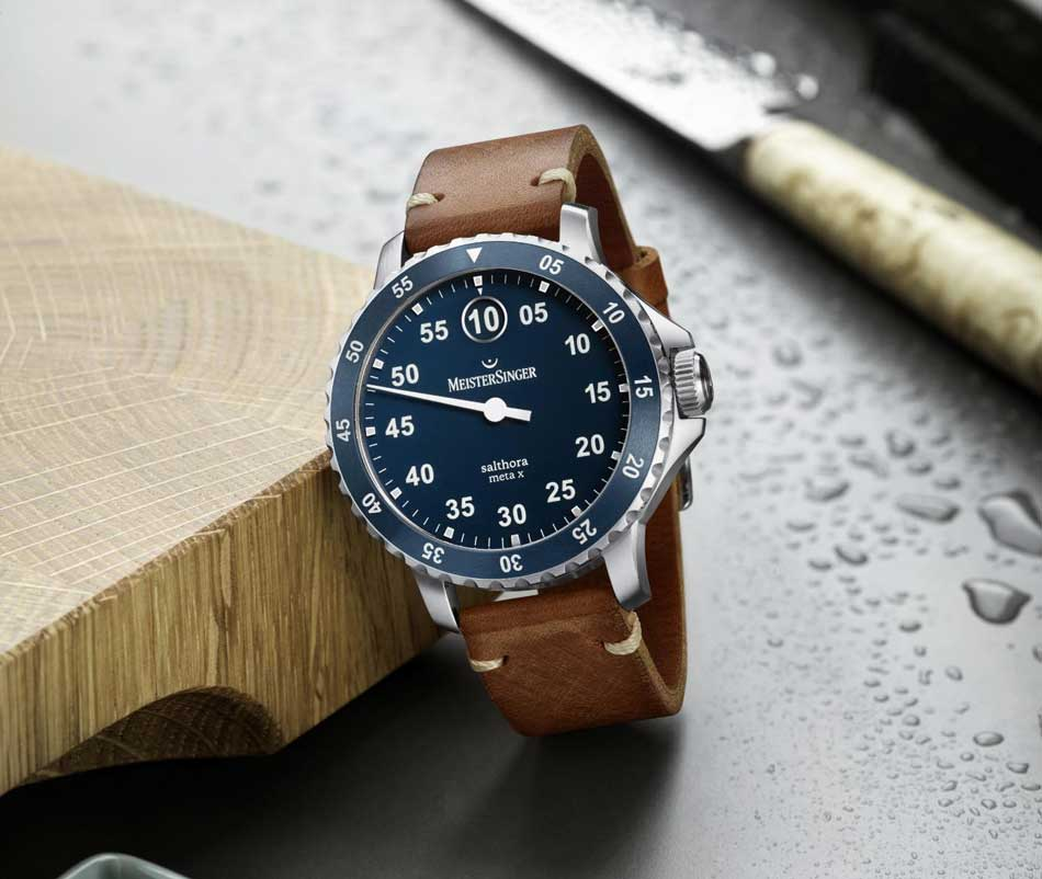 MeisterSinger Salthora Meta X : une sportive monoaiguille arrive en collection