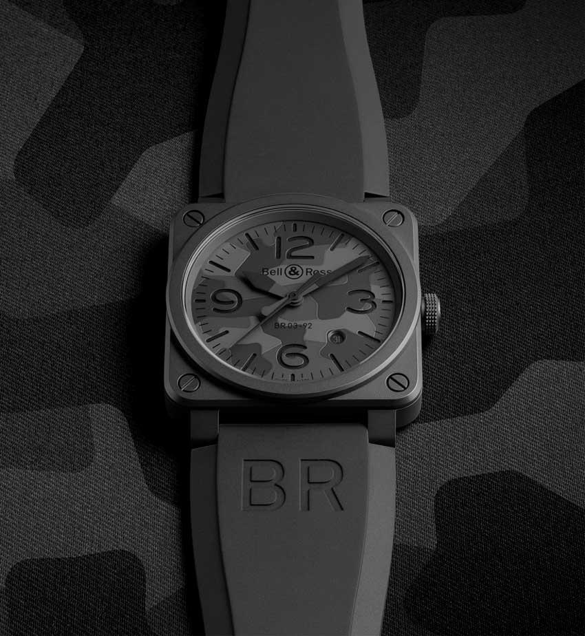 Bell & Ross BR 03-92 Black Camo : la discrète