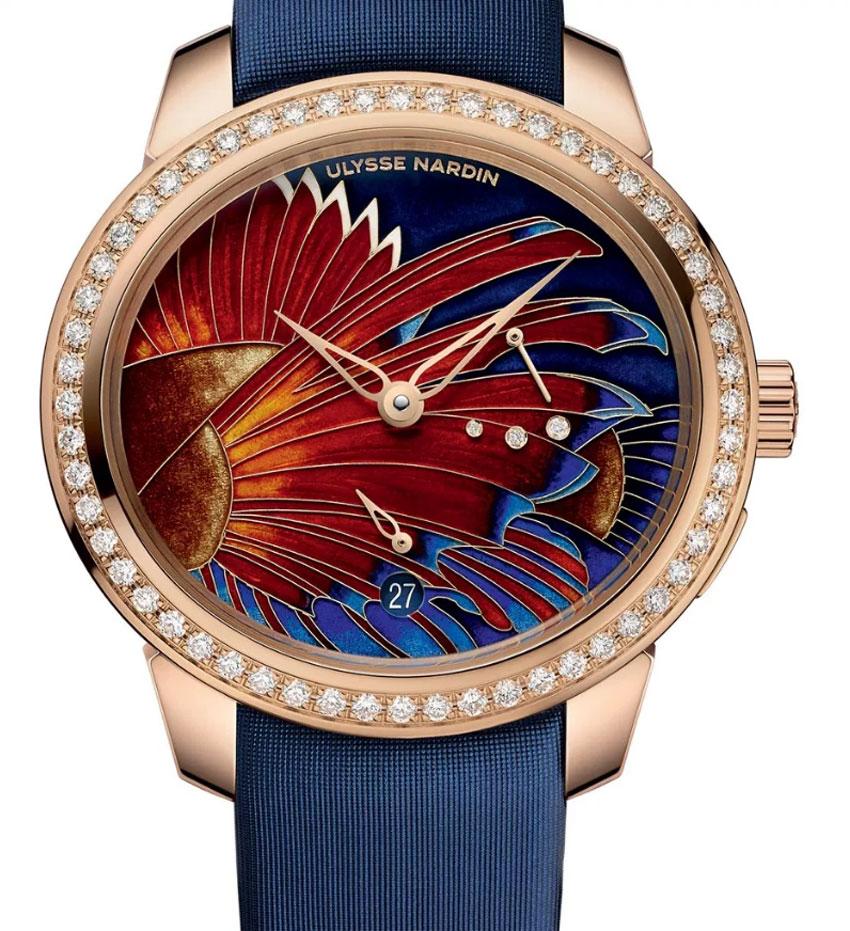 Ulysse Nardin Jade Lionfish : de toute beauté